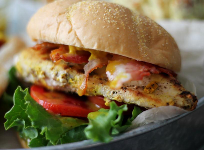 Maple Mustard Grilled Chicken Club #KetchupsNewMustard #CollectiveBias