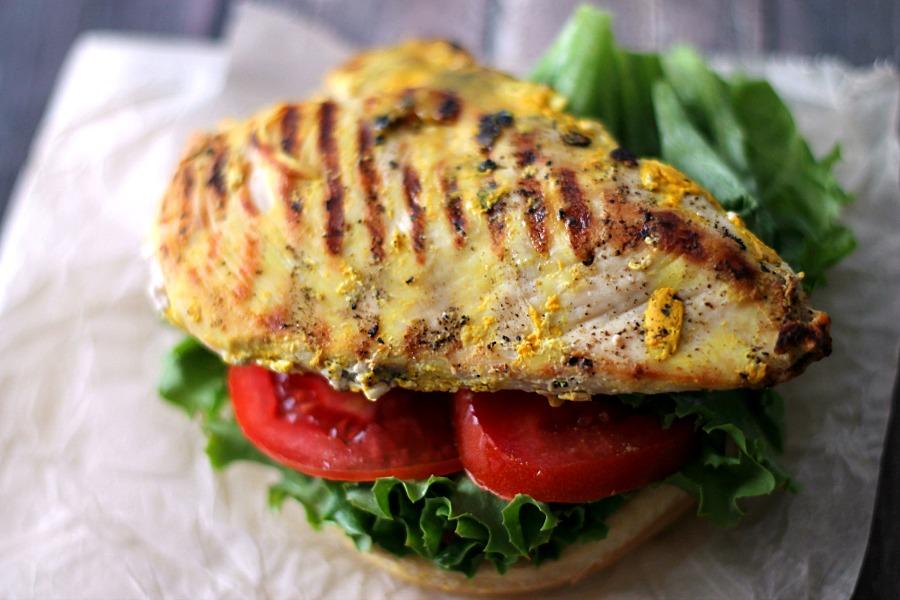 Mustard Grilled Chicken #KetchupsNewMustard #CollectiveBias