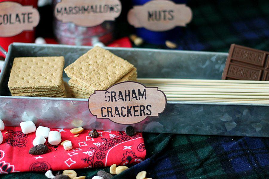 Smores Bar Graham Crackers