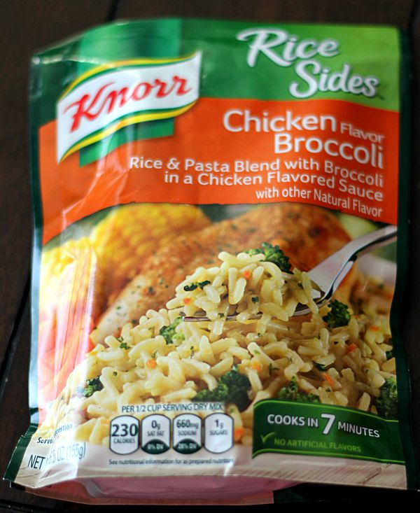 Knorr Rice Sides Chicken Broccoli