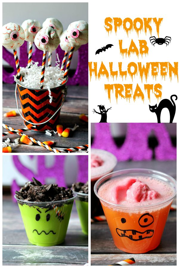 Spooky Lab Halloween Treats