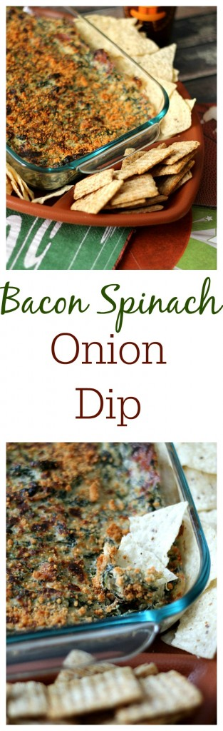 Bacon Spinach Onion Dip