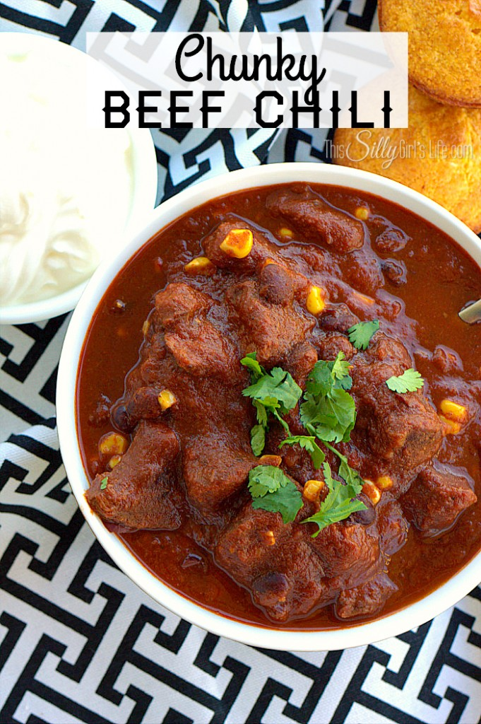 Smoky Beef Chili With Tortilla Chip Crust Recipes — Dishmaps