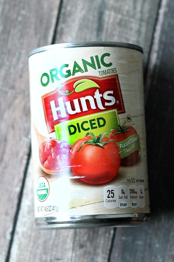 Hunts Organic Diced