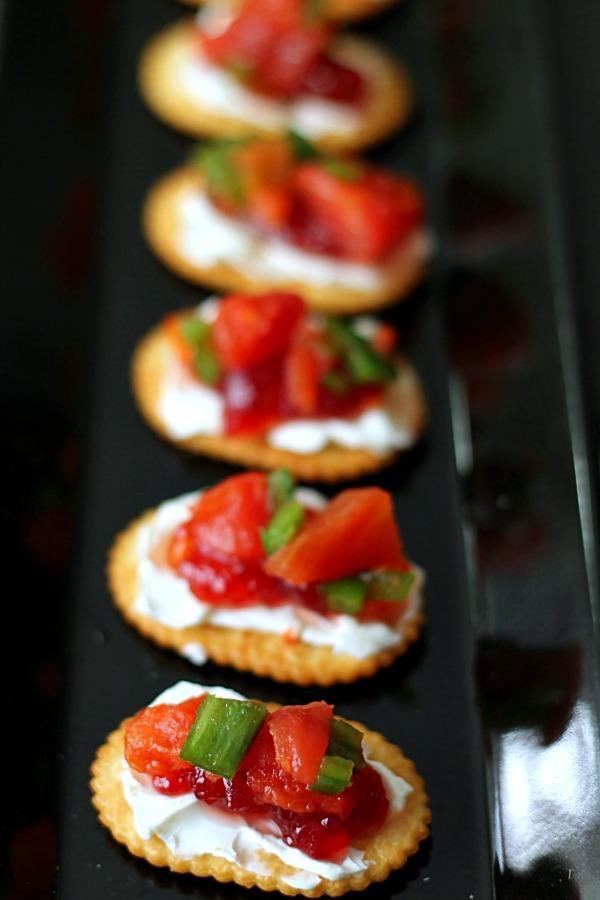 Spicy Cream Cheese Crackers