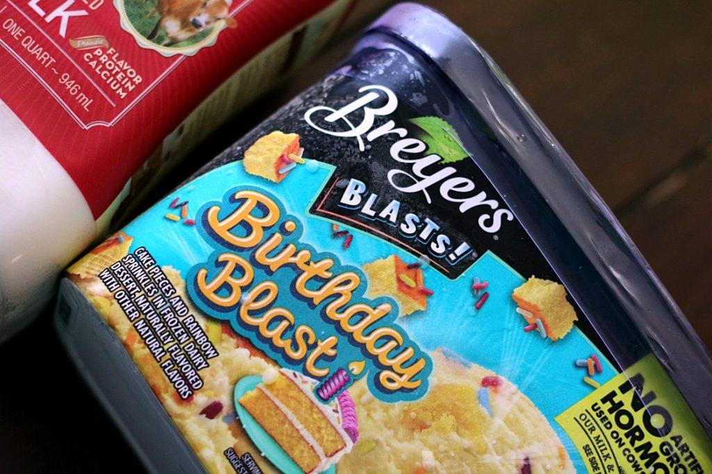 Birthday Cake Ice Cream Breyers