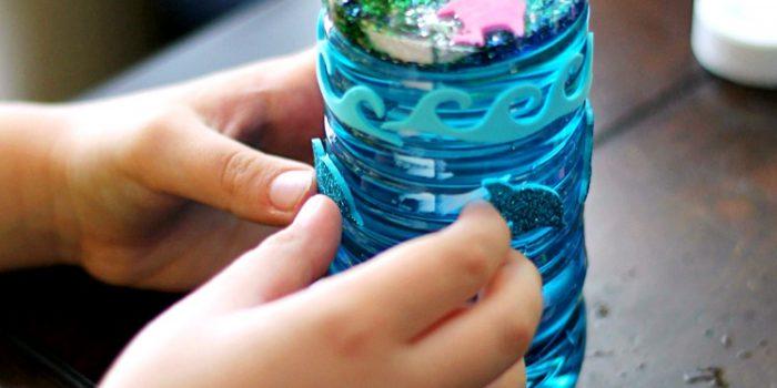 Ocean Glitter Bottles
