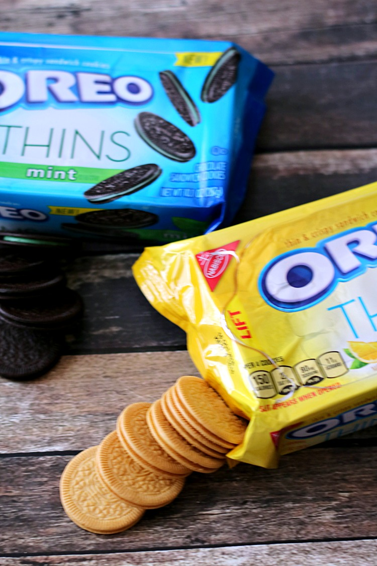 Lemon Oreo Thins