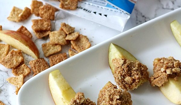 Cinnamon Crunch Peanut Butter Apples