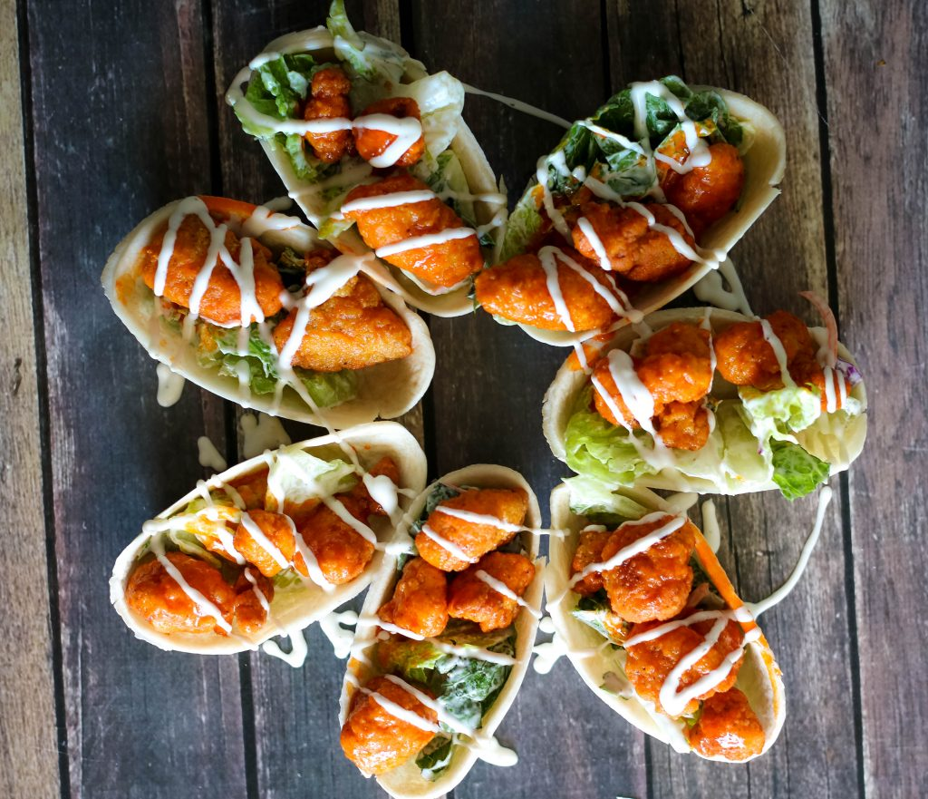 Buffal Chicken Salad Bowls