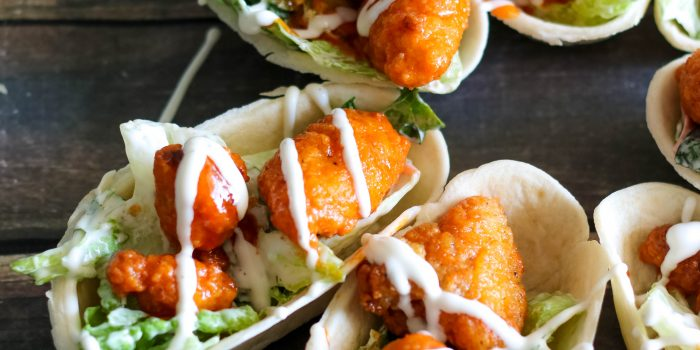 Buffalo Chicken Salad Boats