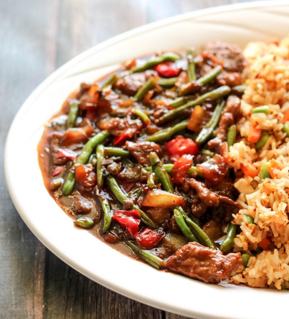 P.F Changs Home Menu Mongolian Beef