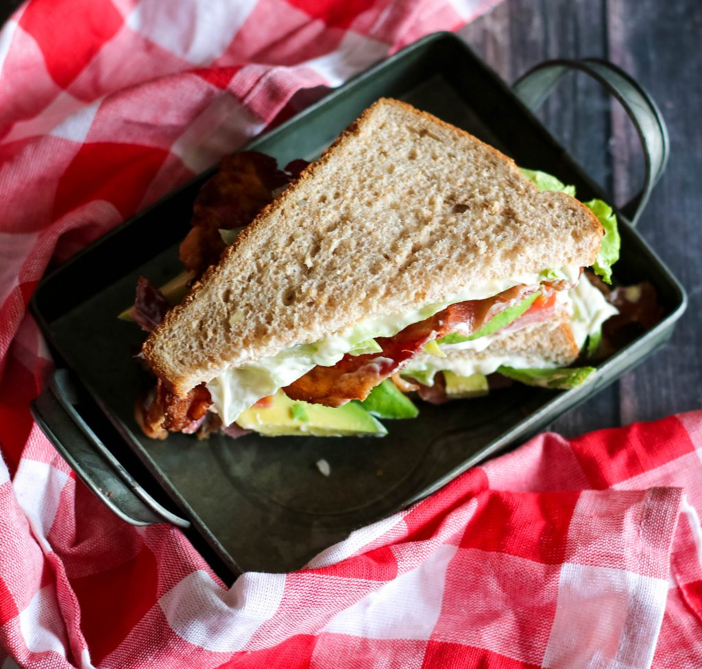 Avocado BLT, yum!