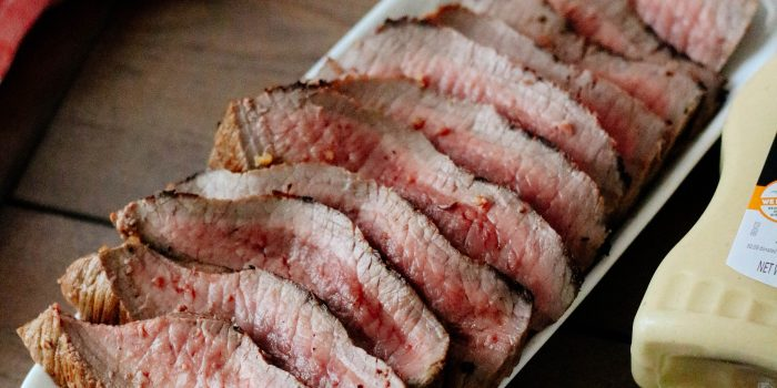 The BEST Dijon Marinated London Broil