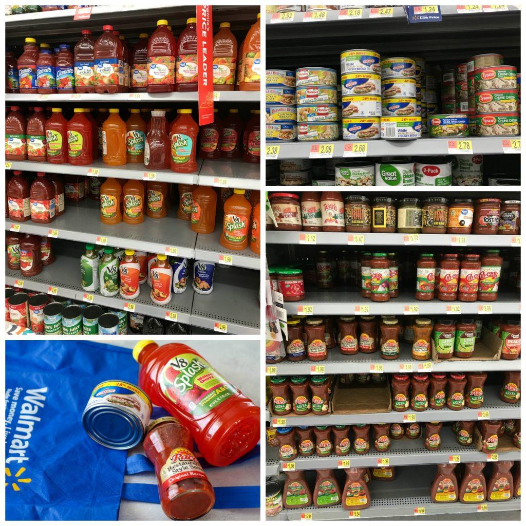 Campbells in Walmart