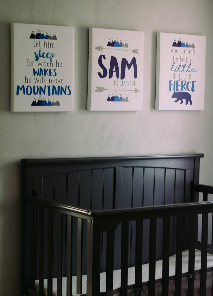 Mountain Nursery Canvases_