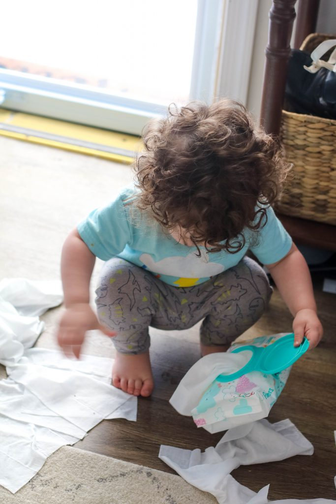 Why we stock up on Pampers Sensitive Wipes!