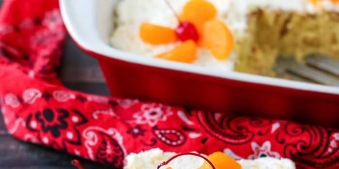 Pig Pickin' Tres Leches Cake