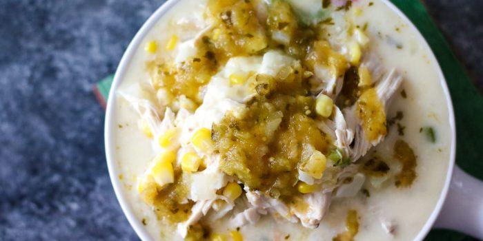 Chicken Queso Soup