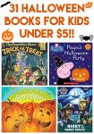 31 Halloween Books for Kids Under $5
