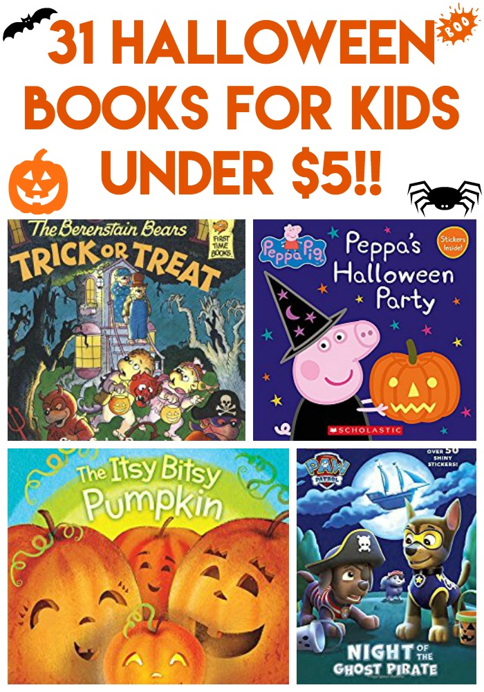 31 Halloween Books for Kids Under $5 - Life With The Crust Cut Off