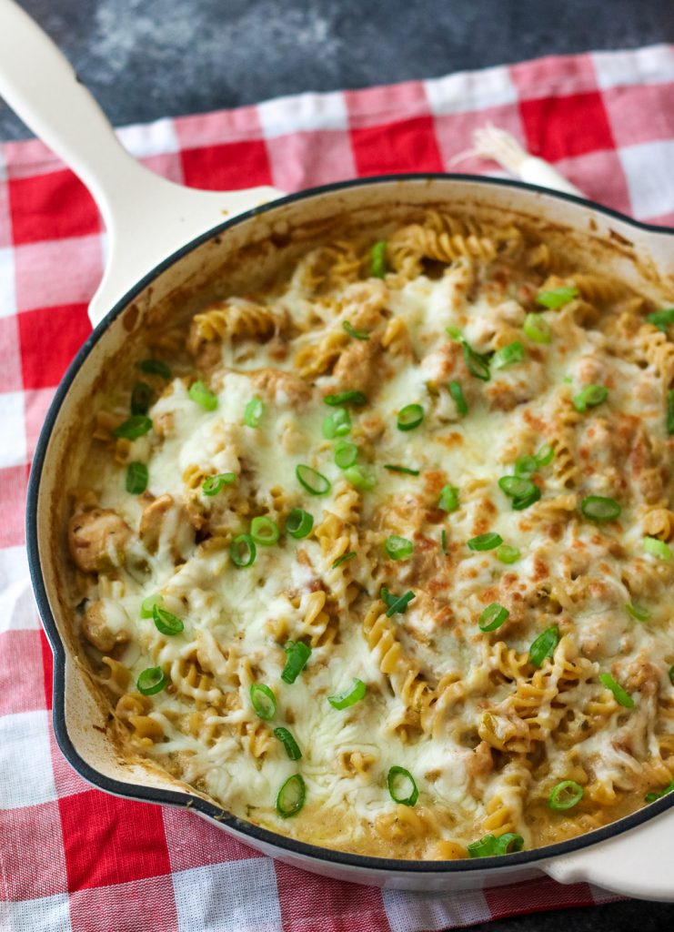 Chicken Queso Mac and Cheese, yum (1 of 1)