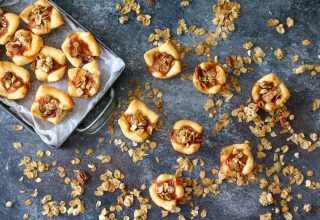 Sweet Potato Pies Crunchy Pecan Topping (1 of 1)