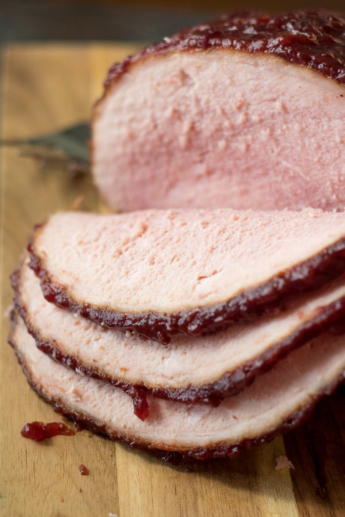 Cola Cranberry Glazed Ham is a new twist on a traditional family recipe using Coca Cola and sure to be your new favorite!