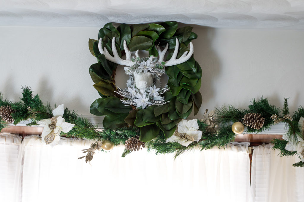 Deer Head Wreath (1 of 1)