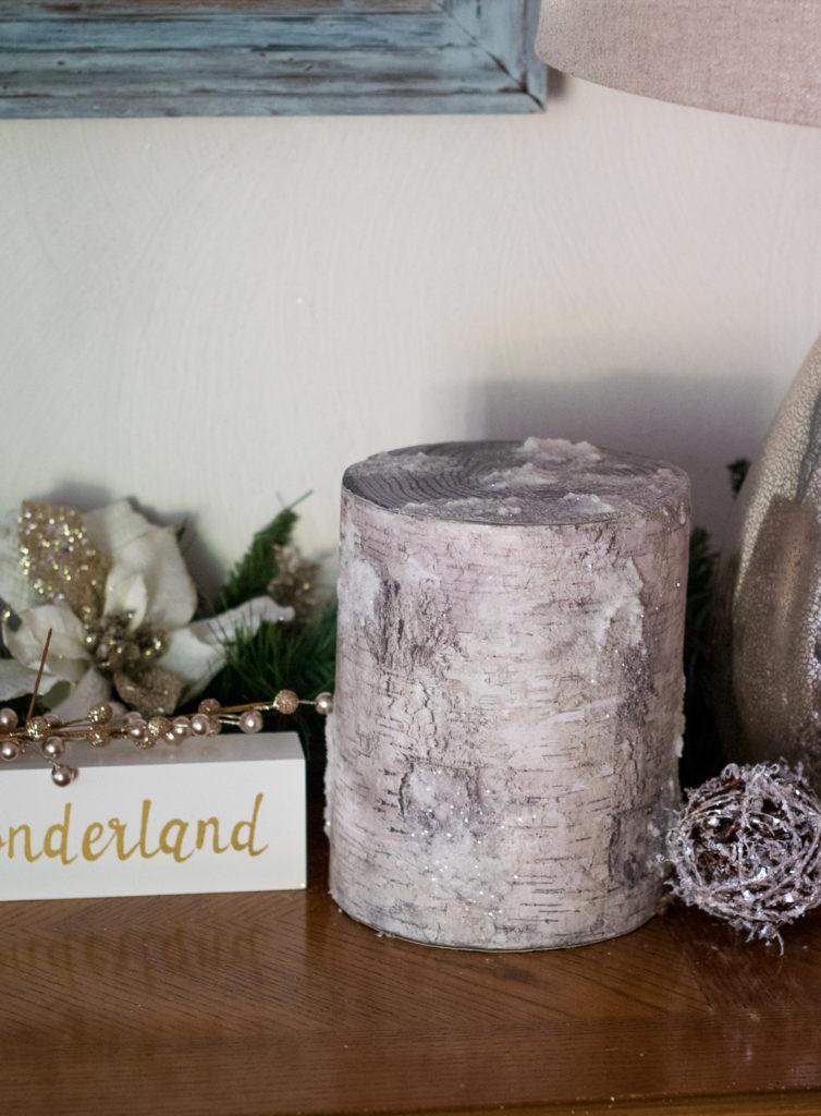 Glittery Tree Stump (1 of 1)