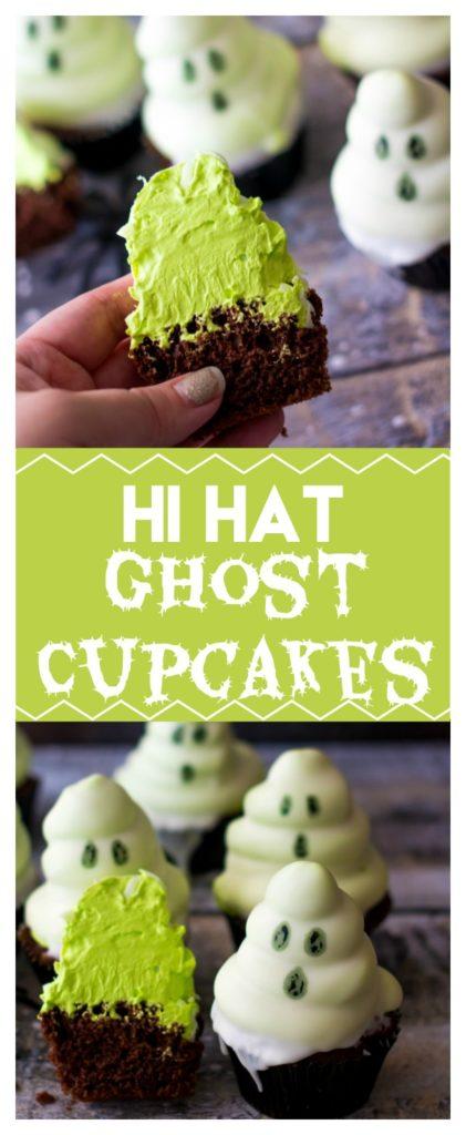 Hi Hat Ghost Cupcakes
