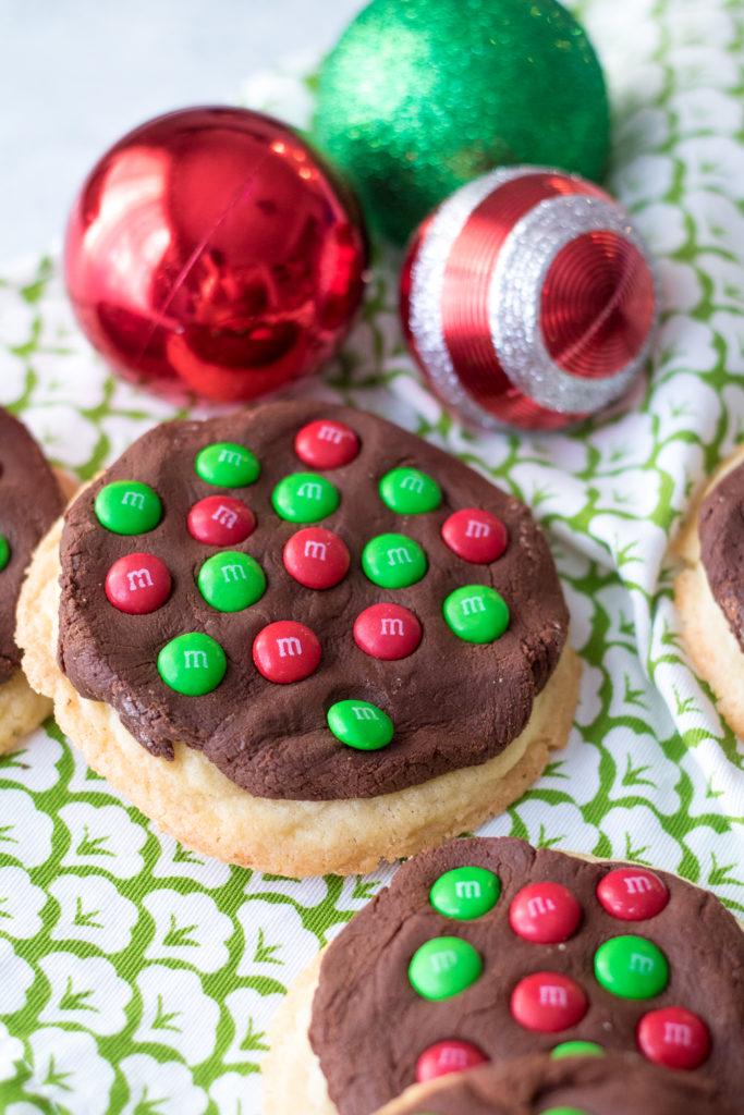 Fudge Topped Sugar Cookies-10