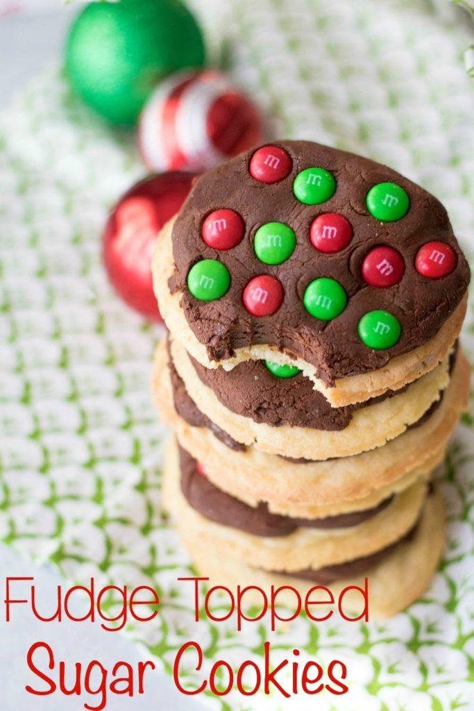 Fudge Topped Sugar Cookies-19