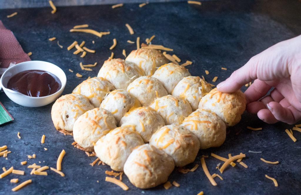 BBQ Meatball Bomb Bread-4